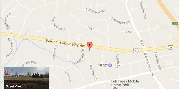 SOLD – 1.36 Acres Land on Warren H Abernathy, Spartanburg