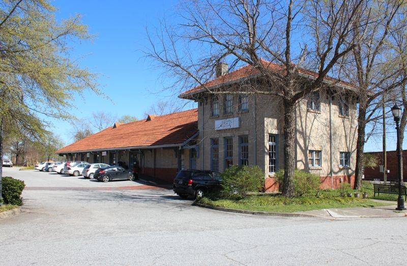 Sold – Historic Train Depot Building