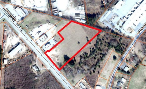 SOLD – 3.43 Acres of Commercial Land