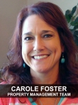 Welcome Carole Foster