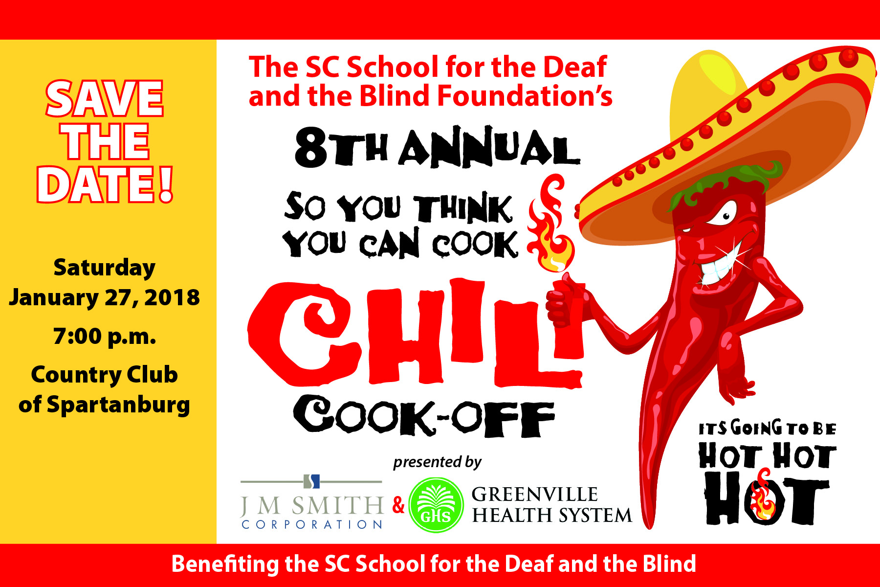 Save The Date – 8th Annual Chili Cook-Off