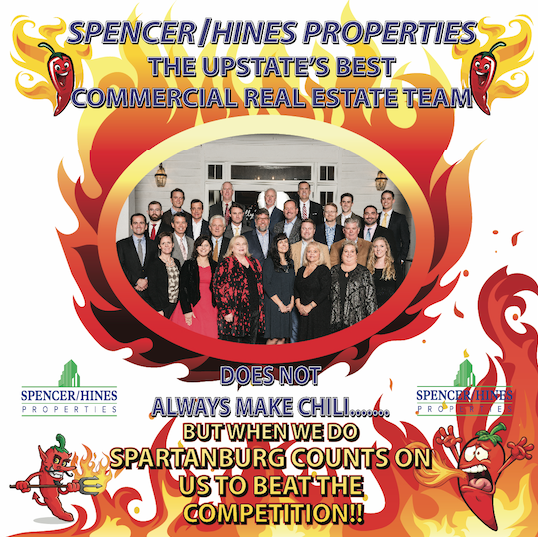 In Addition To Great Chili We Are The Upstate's Best Commercial Real Estate Team
