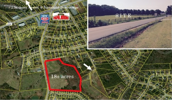 SOLD – 18 Acres on Anderson Mill Road