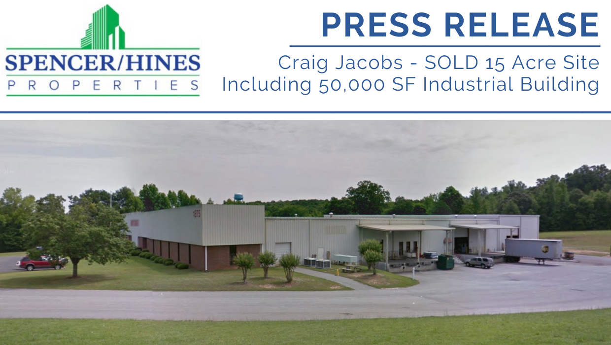 SOLD – 15 Acre Site Including 50,000 Sq. Ft. Industrial Building