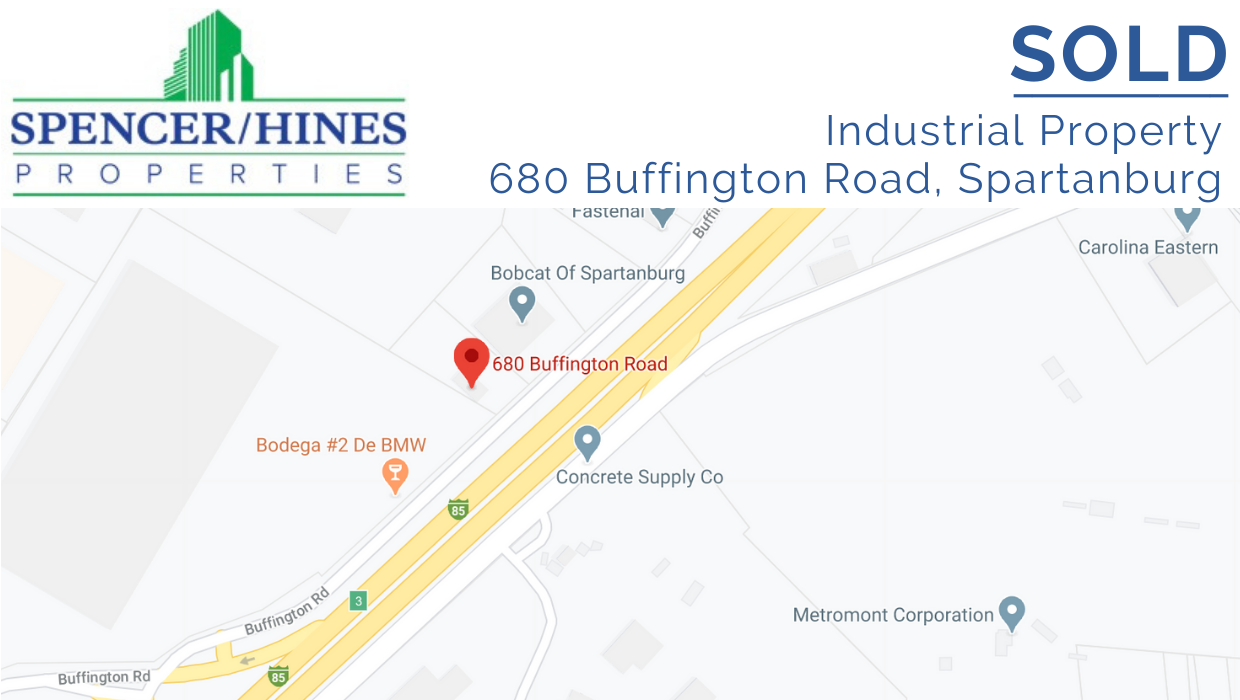 SOLD – Industrial Property in Spartanburg