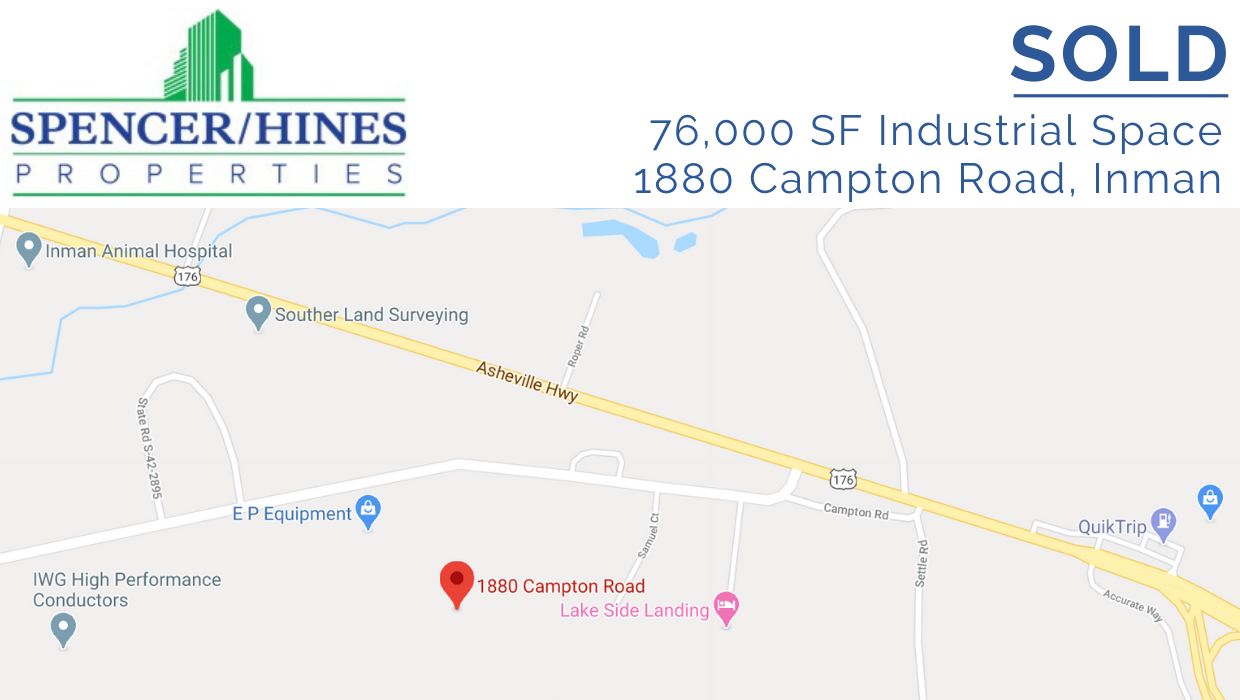 SOLD – 76000 SF Industrial Space