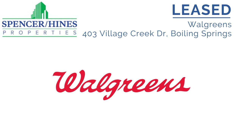 LEASED – Walgreens