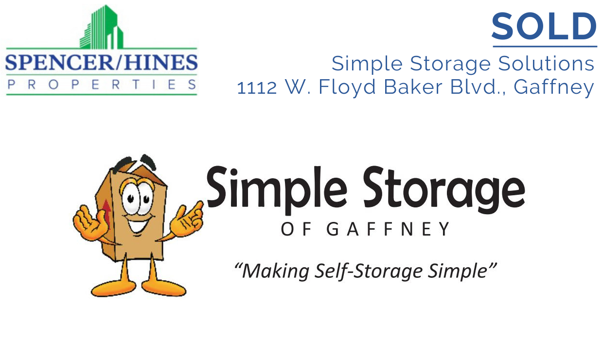 SOLD – Simple Storage Solutions