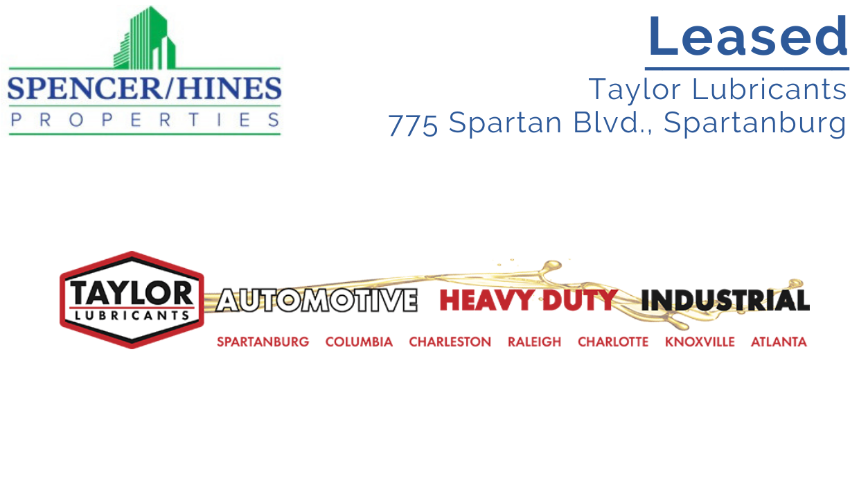 LEASED – Taylor Lubricants