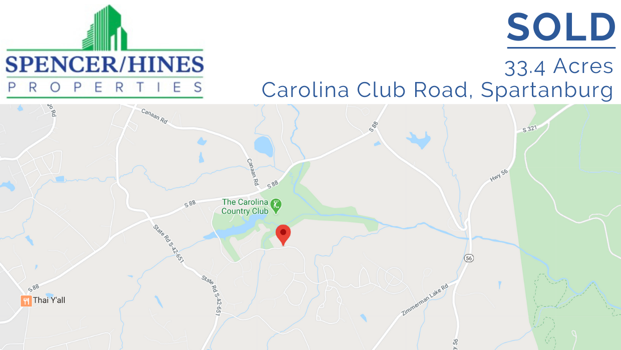 SOLD – 33.45 Acres, Spartanburg