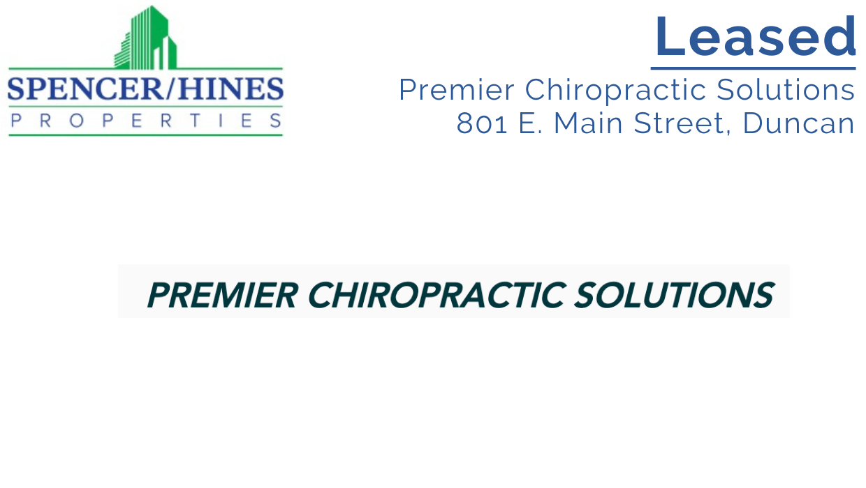LEASED – Premier Chiropractic Solutions